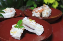 能登の郷土料理『かぶら寿司』