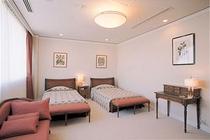 キングスウィートのベッドルーム