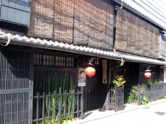 祇園のお茶屋の風景