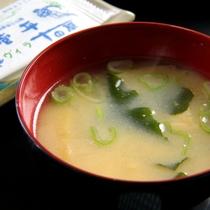 朝食_味噌汁