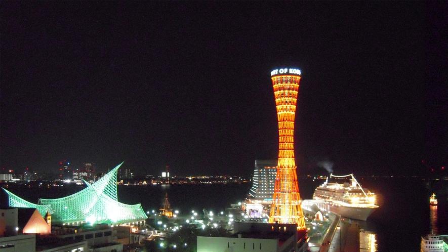 13階 神戸倶楽部からの景色