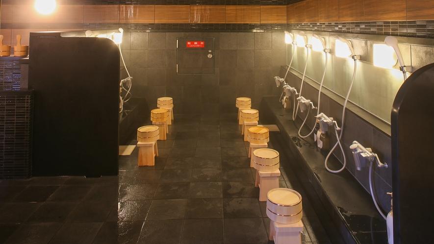 なごみの湯宿 洗い場