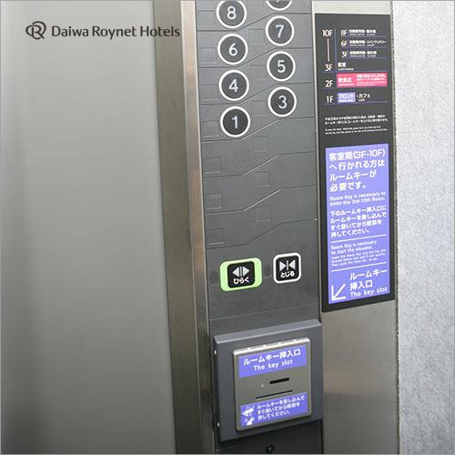 エレベータ内セキュリティ