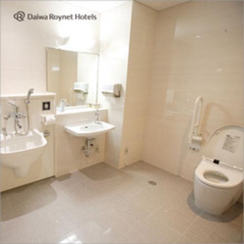 共用トイレ・どなた様でもご利用いただけます。