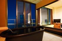 デラックス&OVS風呂から見た夜イメージ