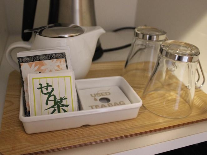 お茶セット(緑茶とジャスミンティー)