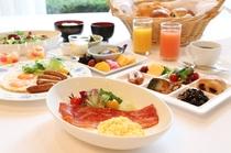 無料!朝食バイキング(盛り付けイメージ)