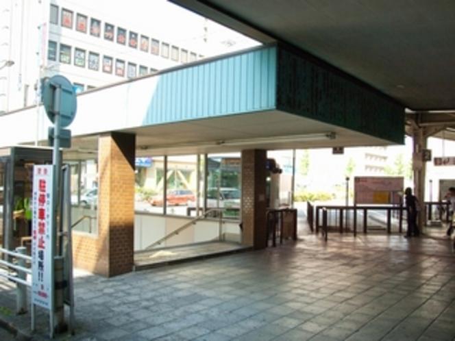 名鉄東岡崎駅北口