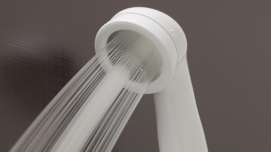 シャワーのお水も「健康イオン水」♪