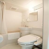 ユニットバス トイレはウォシュレット付き