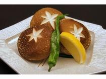 追加料理【雫石産ジャンボ椎茸(1人前650円)】イメージ