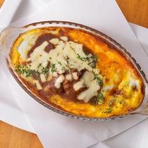 (レストランメニュー)焼きチーズカレー