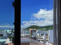 客室からの眺望:(一例)シティービュー・5階