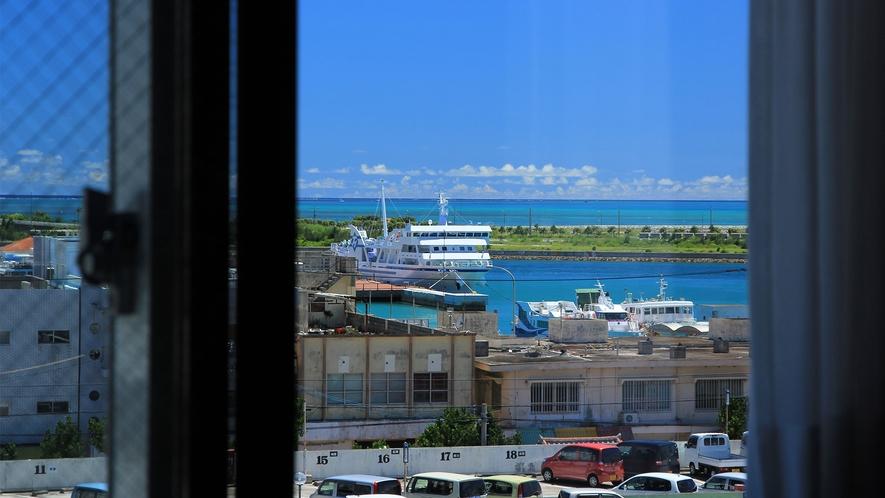 5階客室からの眺望:ハーバービュー