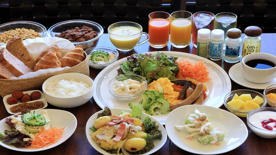朝食バイキング盛り付けイメージ