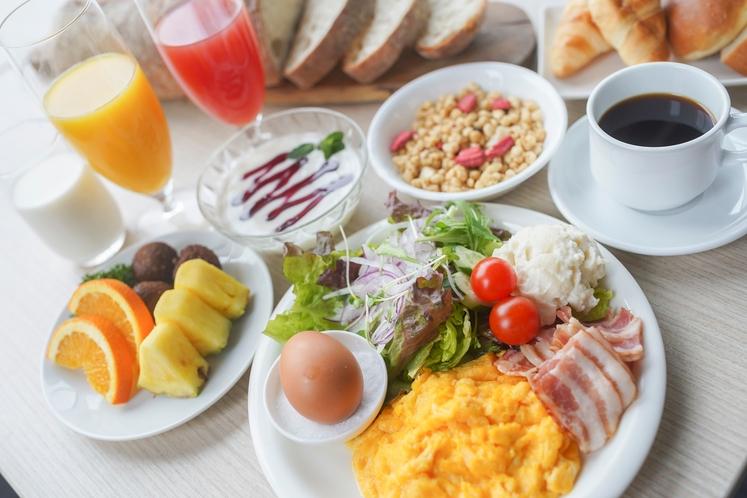 朝食バイキング(洋食)