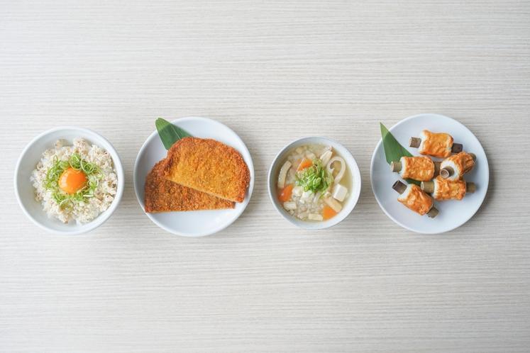 朝食バイキング(郷土料理)