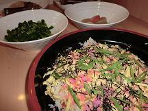 """[ちらし寿司]  """"おひな祭り""""や""""子供の日""""など特別な日に、お出ししています。"""