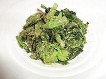 [おひたし]  青菜はやっぱりおひたしが定番ですよね?!