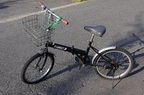 【貸出用自転車】 近くのコンビニやスーパーへ、ちょっと買い物に行かれる時など便利!2時間まで無料!