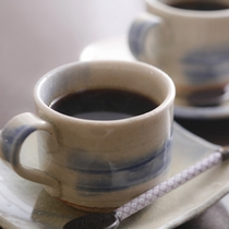 水にこだわったコーヒー