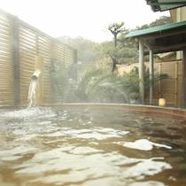大浴場の露天風呂です。