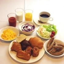 朝食無料サービス