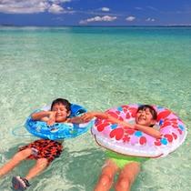 【ナガンヌ島】美しい海で海水浴