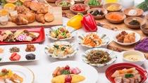 (朝食)80種類以上の豊富なメニューと心尽くしのおもてなしでお待ちしております♪