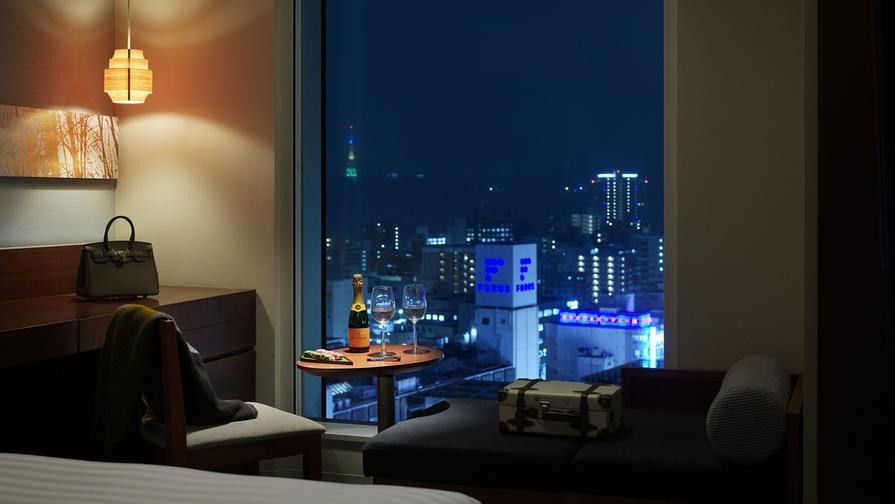 【室数限定】高層階(14階以上)確約!大切な人との素敵な思い出に■朝食付■