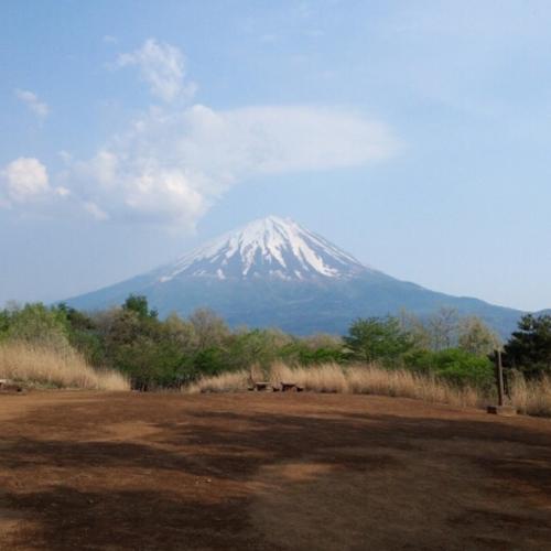 二湖台からの富士山です!