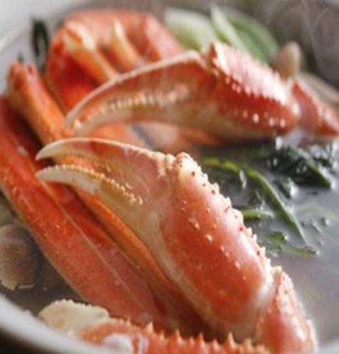 かにすき鍋のイメージ