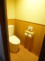ウォシュレットトイレ付き客室