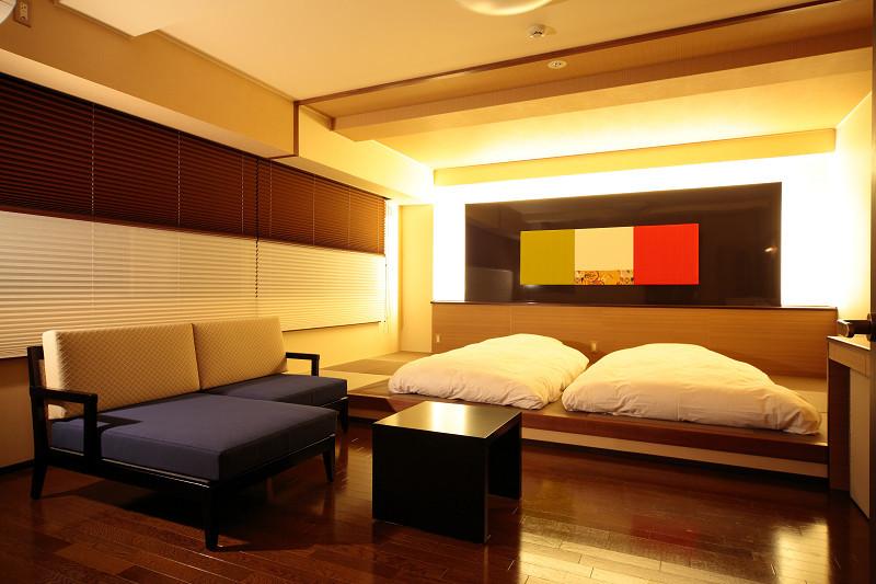 露天風呂付特別室2