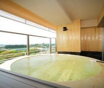 露天風呂付き特別室のお風呂1