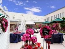 ホテル西館の結婚式場