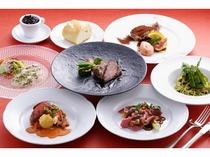レストランのコース料理2