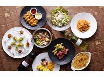 レストランのコース料理3