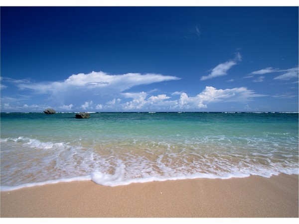 やんばるBlueぅぅぅぅぅぅの Beach!