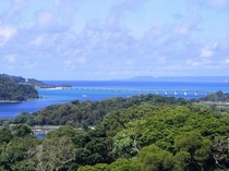 ワルミ大橋周辺から古宇利島を眺める・・・