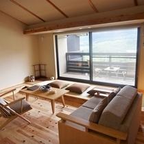 ◆本館 露天風呂付スイート[朱雀]室内