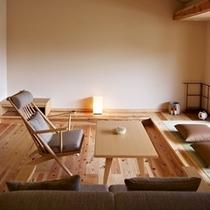 ◆本館 露天風呂付スイート[朱雀]室内2