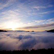 ツエノ峰 雲海