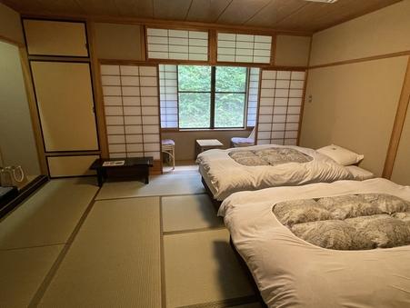和室ベッドルーム10畳(禁煙・バスあり)