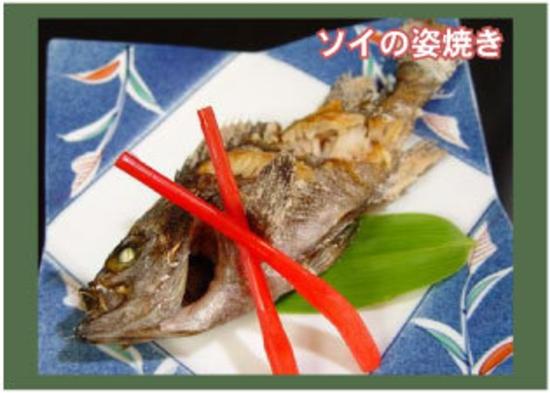 地元の海鮮(天然)素材をもちいた朝夕2食付プラン