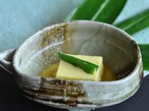【茶碗】とうきび豆腐