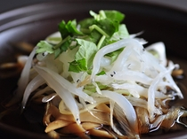 【台の物】白魚の柳川鍋