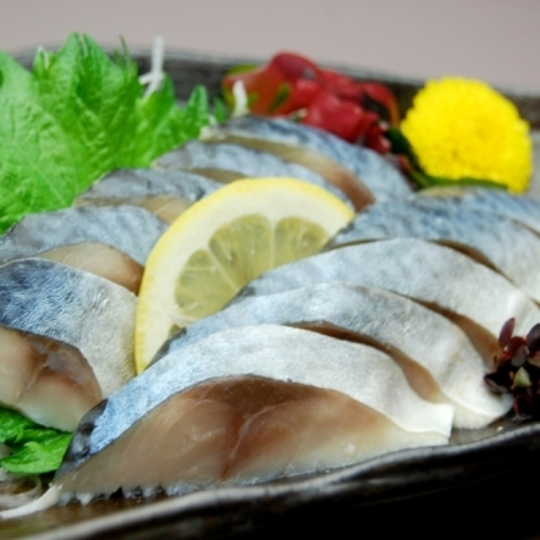 ◆夕食レストラン 花々亭◆しめ鯖