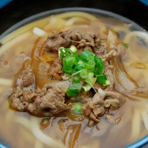 ◆夕食レストラン 花々亭◆肉うどん