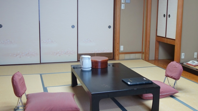 【朝食付】和室でのんびり♪天然湧出の温泉に浸かってゆったり※夕食なし